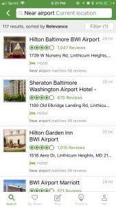 tripadvisor hotels near airport