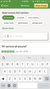 how to search tripadvisor reviews