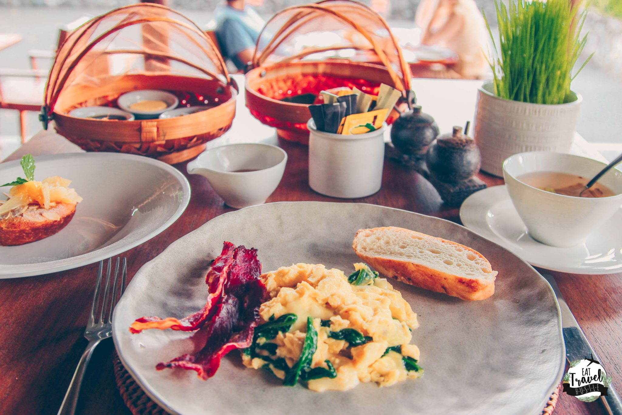 Complimentary daily breakfast at Alila Ubud