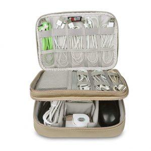 travel electronics gear organizer