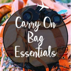 Carry On Bag Essentials