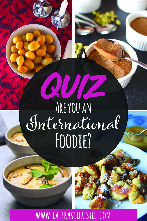 International Foodie Quiz pin 1