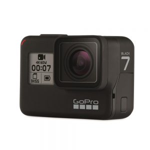 gopro hero7 black waterproof camera
