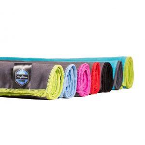 various colors microfiber towels